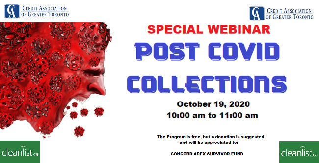 Post COVID Collections Webinar